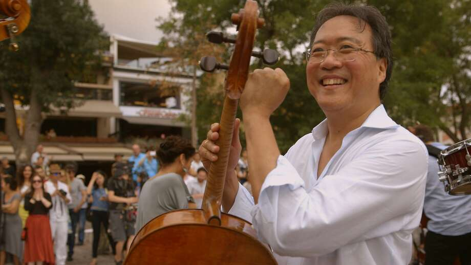 "Yo-Yo Ma is at the center of ""The Music of Strangers,"" which follows the group he assembled on its world tour. Photo: Courtesy Of Participant Media"