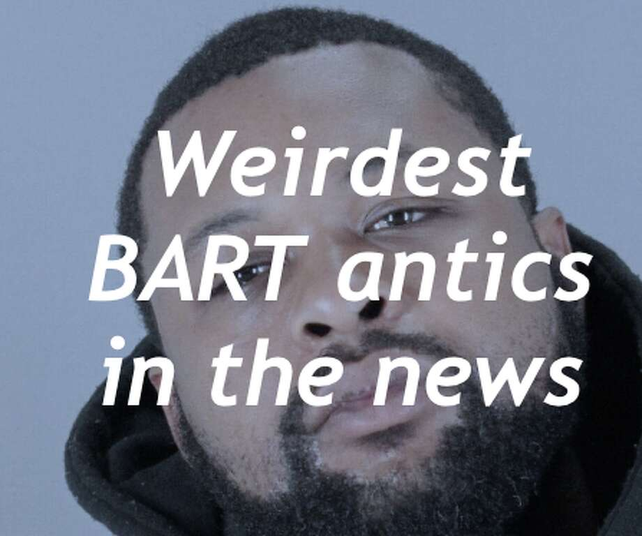 BART trains and stations have been host to a wide variety of criminal or just odd events. Check out some of the weirdest antics in the news by clicking through.