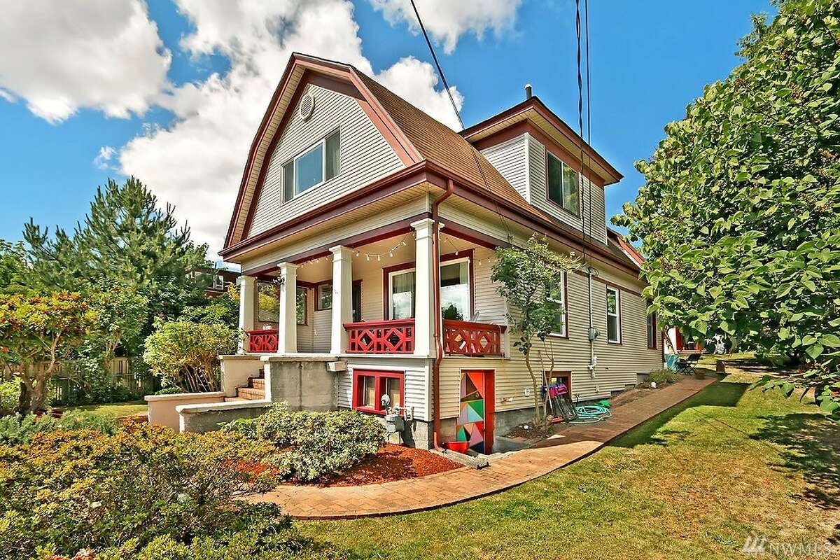 This first home, 4715 49th Ave. S., is listed for $728,888. The three bedroom, two bathroom home is 2,100 square feet. The home was built in 1920 and has hardwood floors, a spacious backyard and mountain, city and lake views. You can see the full listing here.