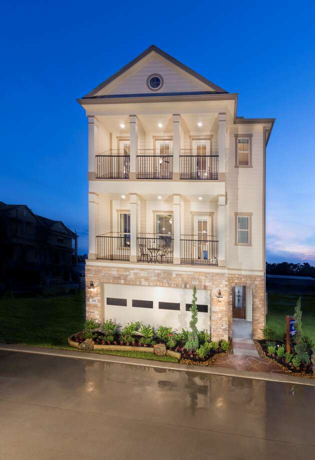 Three story townhomes in Knoll Park will range from 2,033 square feet to 2,728 square feet. Photo: Lennar