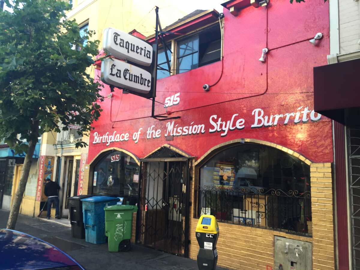 Many say the first Mission-style burritos were served at La Cumbre on Valencia near 16th street in September of 1969. But there are some who say another local taqueria was serving burritos even before then. Which was that?