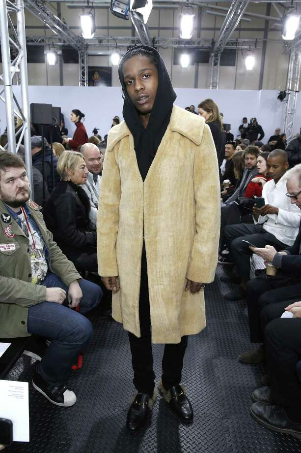 681d6bdb76f ASAP Rocky at the J.W. Anderson s fall show. The fashion-obsessed rapper  has adapted