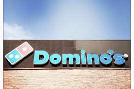 Domino's Pizza storefront.