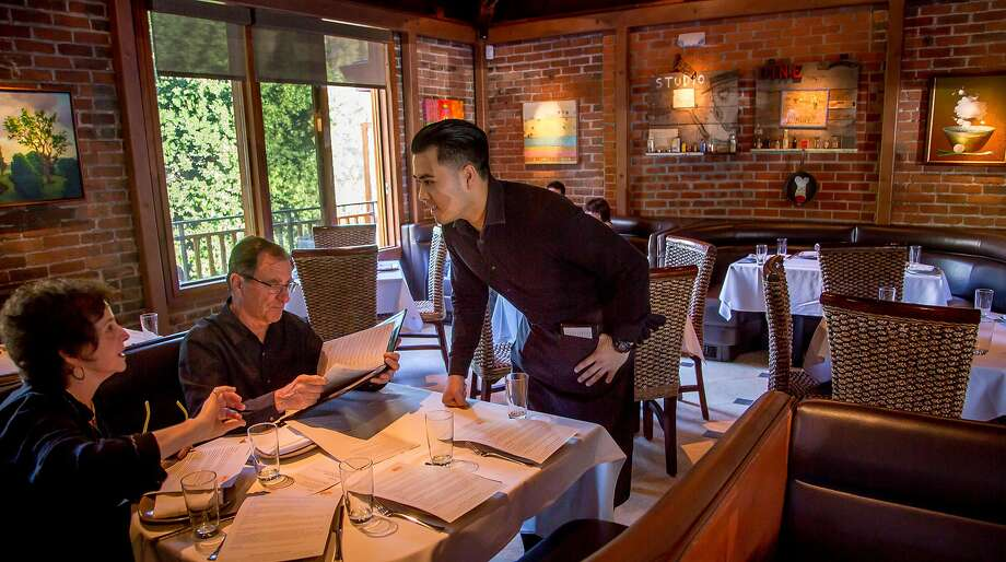 At Picco, service is smooth and the interior has an airy appeal. Photo: John Storey, Special To The Chronicle