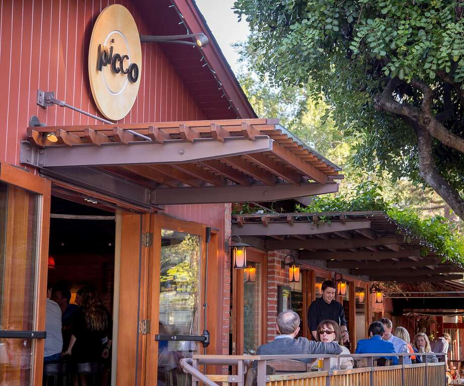 The barn-like exterior of Picco in Larkspur. Photo: John Storey, Special To The Chronicle