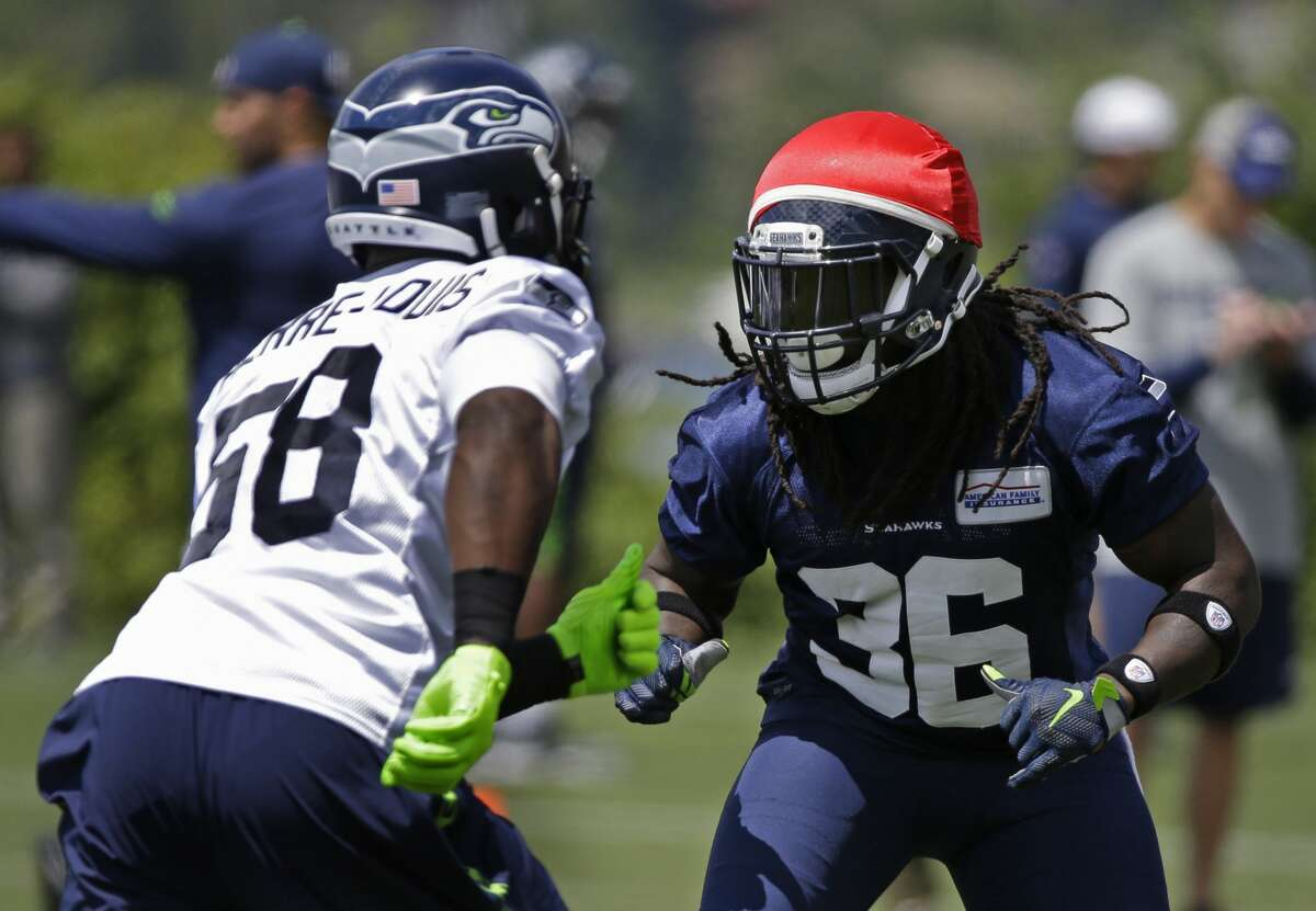 RUNNING BACK (5) Thomas Rawls C.J. Prosise* Christine Michael Alex Collins* (above) Taniela Tupou* (FB)+Brandon Cottom (FB, listed as TE) Notes: Rawls' availability for the start of training camp is doubtful at this point, but the team remains optimistic he'll be ready in time for the regular season, so I'll go with that. Behind him, Michael and Collins will compete for carries while Prosise will be the frontrunner to occupy a passing-down role. Cottom, a second-year player from Purdue, is still listed as a tight end on the offseason roster, but has taken the majority of fullback snaps. The former tailback will also need to prove himself on special teams.