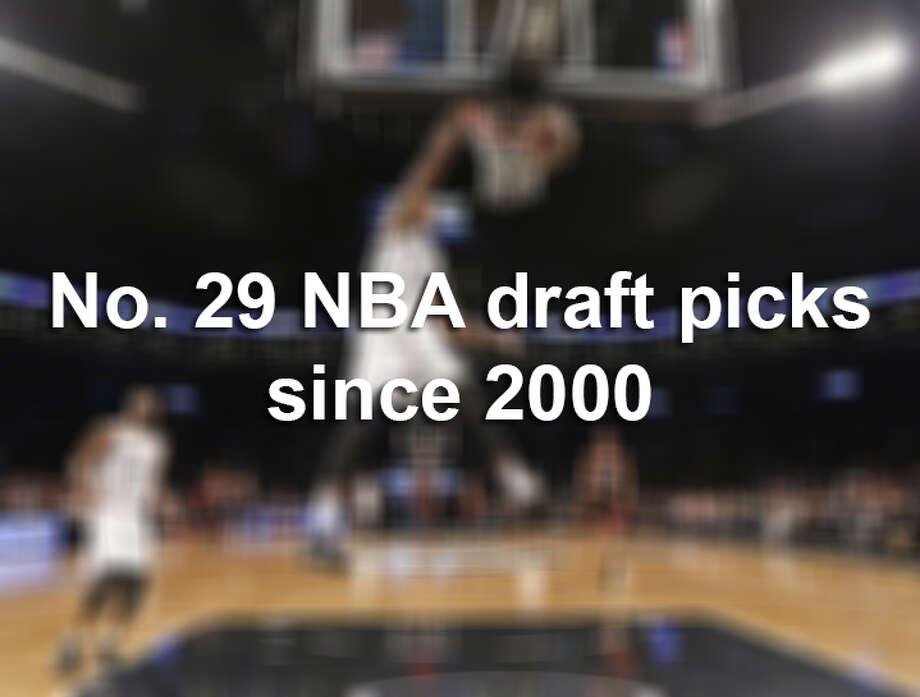 Spurs draft: No. 29 NBA draft picks since 2000 Photo: Kathy Willens, Associated Press