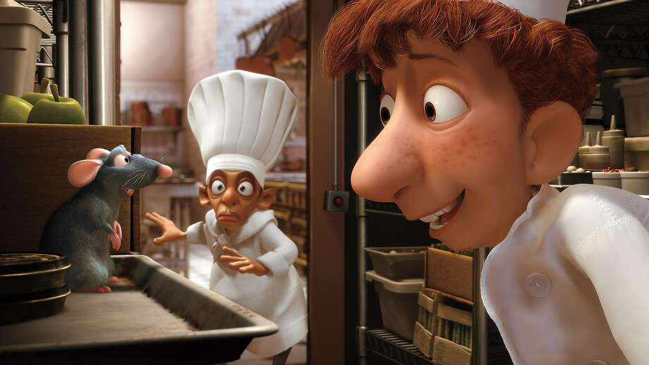 "A scene from ""Ratatouille."" Photo: AP"