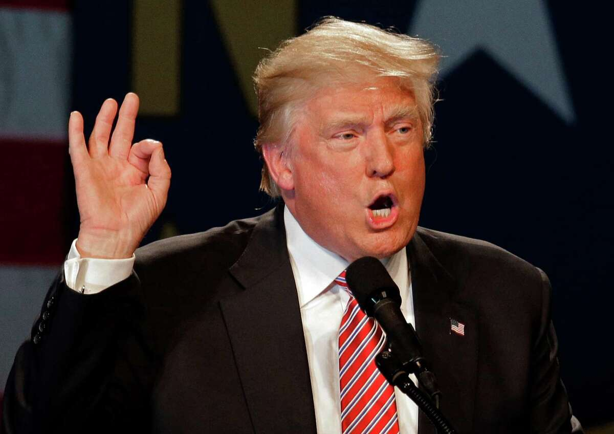 Republican presidential candidate Donald Trump speaks June 14 during a campaign rally at the Greensboro Coliseum in Greensboro, N.C. A dump Trump movement should focus on a truly open convention.