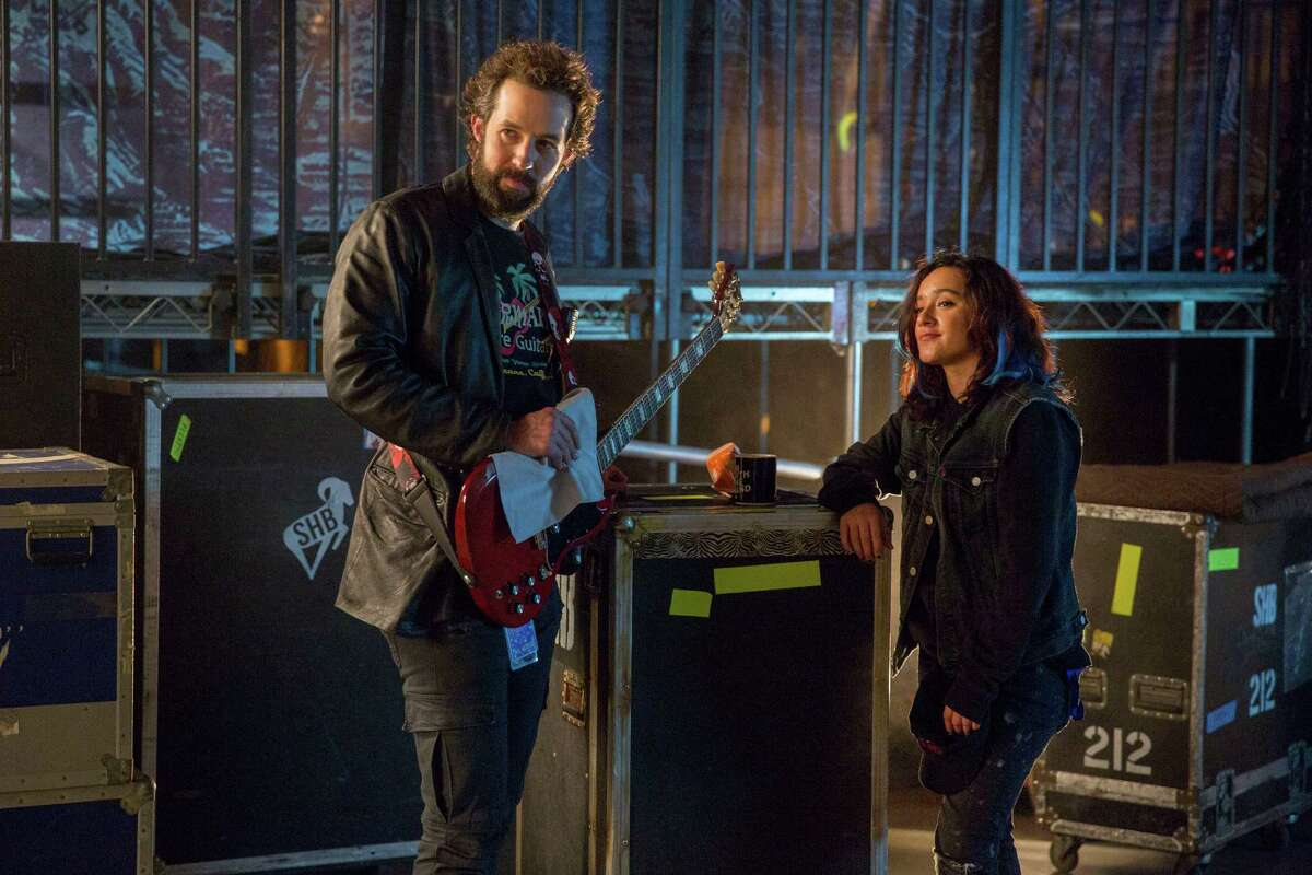 """Peter Cambor plays Milo, a roadie on tour with a rock band in """"Roadies,"""" a new TV show by Cameron Crowe"""
