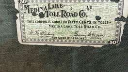 A ticket found by reader Jim Berg shows a round trip on the toll road cost 50 cents.