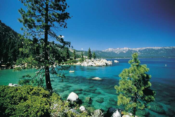 Sand Harbor at Lake Tahoe, Nev., is an enjoyable place to visit and an easy drive from Reno.