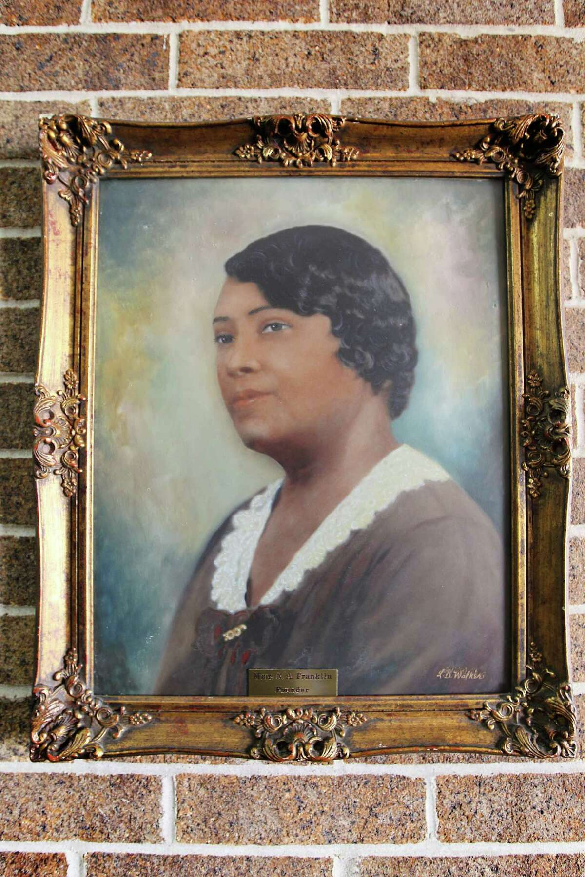 Madame N.A. Franklin, who founded the Franklin Beauty School in 1915.