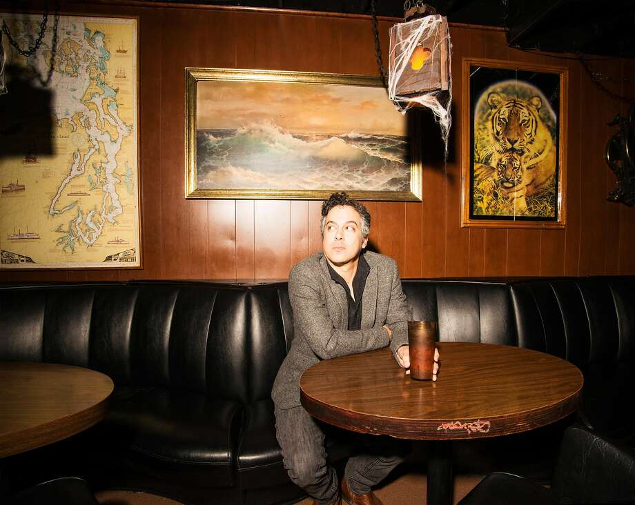 """M. Ward's latest album, """"More Rain,"""" brings together songs from years ago and recent works. Photo: Sarah Cass, Merge"""