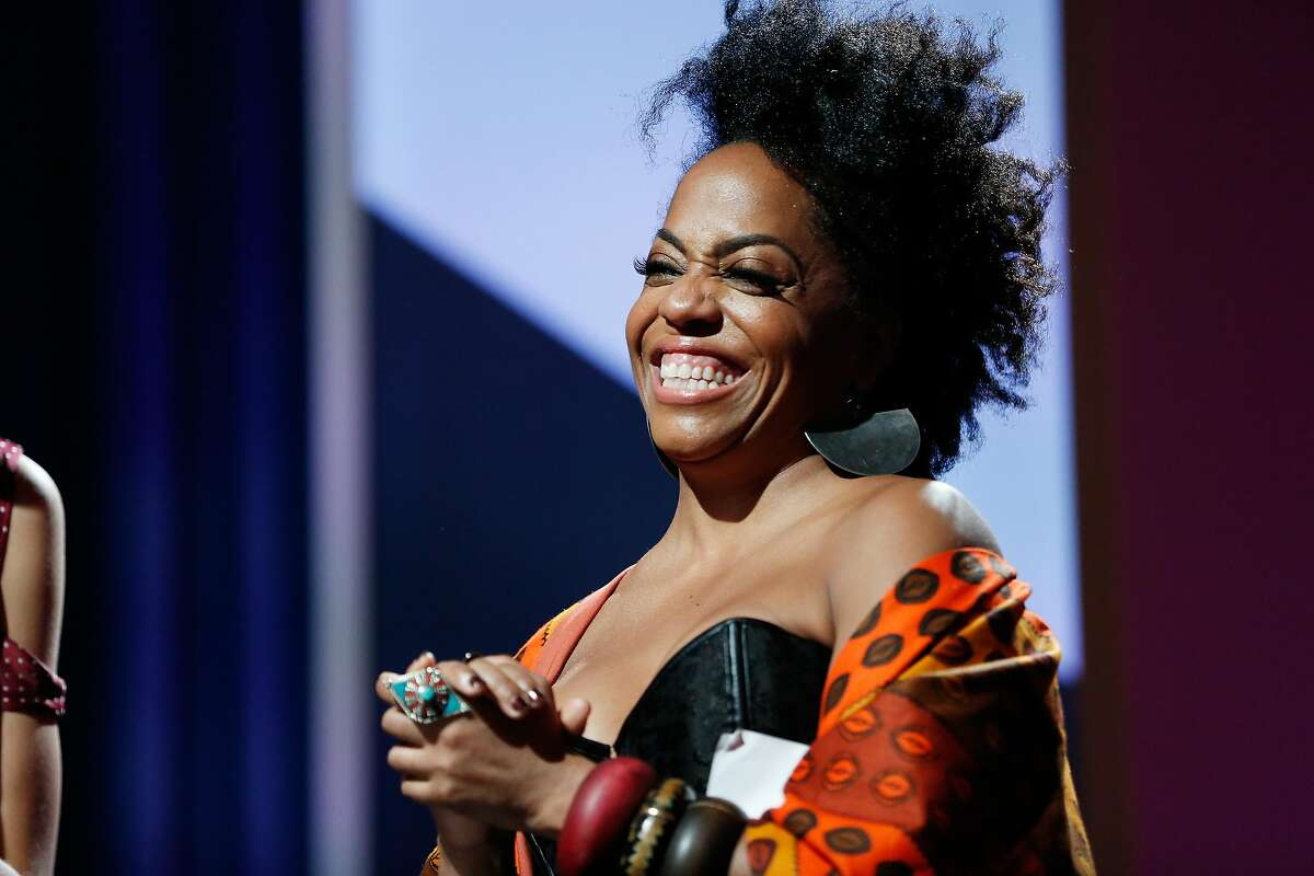 BEVERLY HILLS, CA - FEBRUARY 25: Actress Rhonda Ross Kendrick speaks onstage during the 2016 ESSENCE Black Women In Hollywood awards luncheon at the Beverly Wilshire Four Seasons Hotel on February 25, 2016 in Beverly Hills, California. (Photo by Rich Polk/Getty Images for ESSENCE)