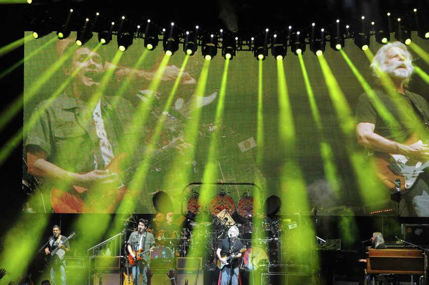 Dead & Company fronted by John Mayer and Bob Weir perform at SPAC on Tuesday June 21, 2016 in Saratoga Springs, N.Y. (Michael P. Farrell/Times Union)