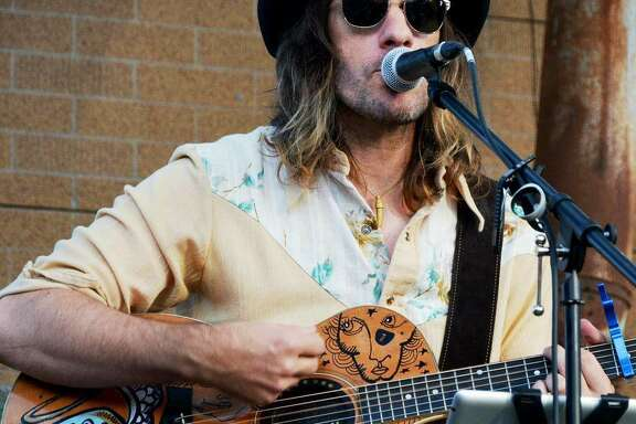 San Antonio singer, songwriter and visual artist Chris Taylor.