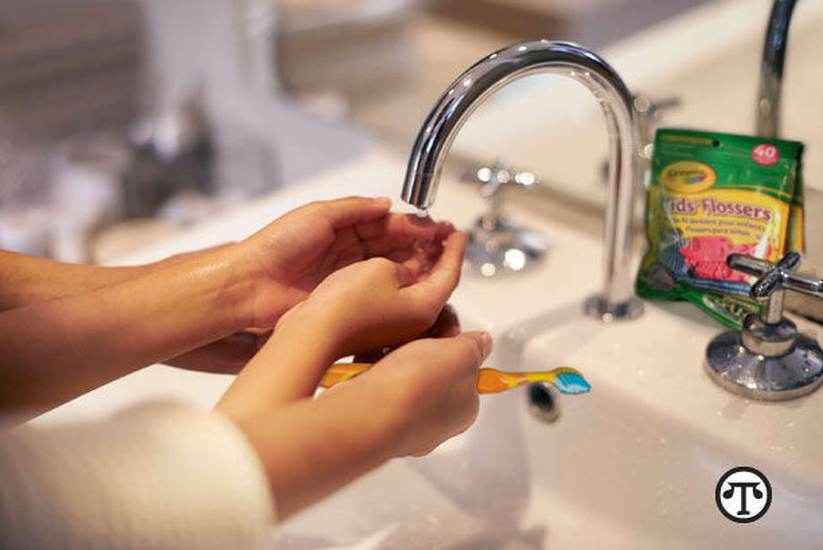 Learning good oral care habits at a young age sets the stage for a long-term healthy lifestyle. (NAPS)