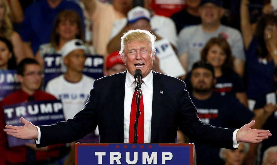 FILE - In this May 24, 2016 file photo, Republican presidential candidate Donald Trump speaks at a campaign event in Albuquerque, N.M. According to an AP count: Trump has reached the number of delegates needed to clinch the Republican nomination for president. Trump, the only remaining GOP candidate left in the race, will go on to accept the nomination at the party's national convention in Cleveland. (Photo: Brennan Linsley, AP)