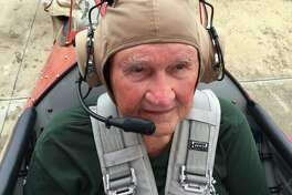 Delmar Jones, 91, flew a plane because of the Ageless Aviation Dreams Foundation.