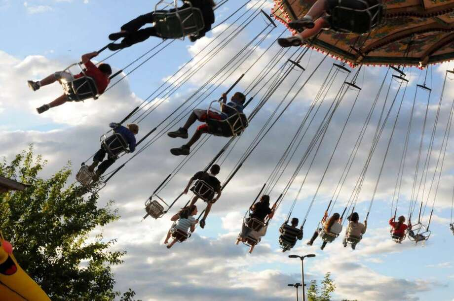 The Annual Danbury City Fair is back and running everyday now untilSunday. Photo: Lisa Weir