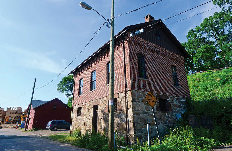The old Norwalk Jailhouse and Barn in Norwalk, Conn. June 2, 2016, was built in the 19th century and recently refurbished. Photo: Erik Trautmann