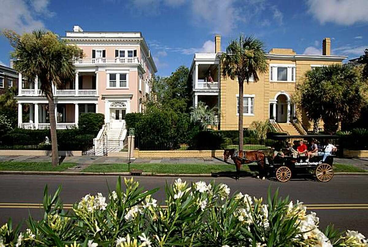 Charleston, South Carolina Because one of you went to Clemson and considers himself half-Southern now, and because Spanish Moss compliments your bridesmaid dresses. Guest of Honor (in Spirit): The Cast of Southern Charm - Town & Country Magazine