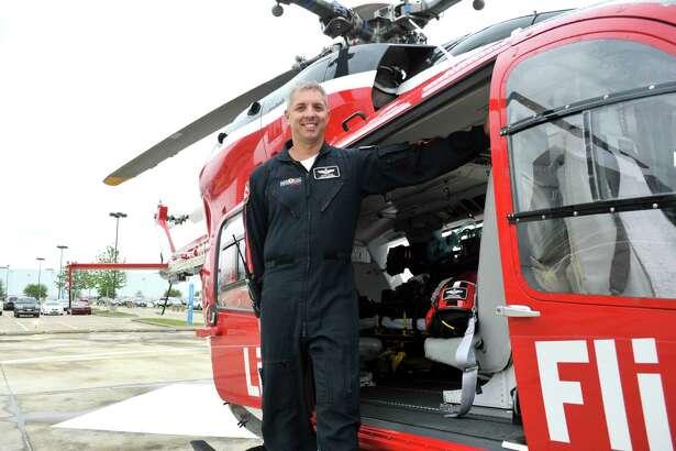 Life Flight Paramedic Aaron White.