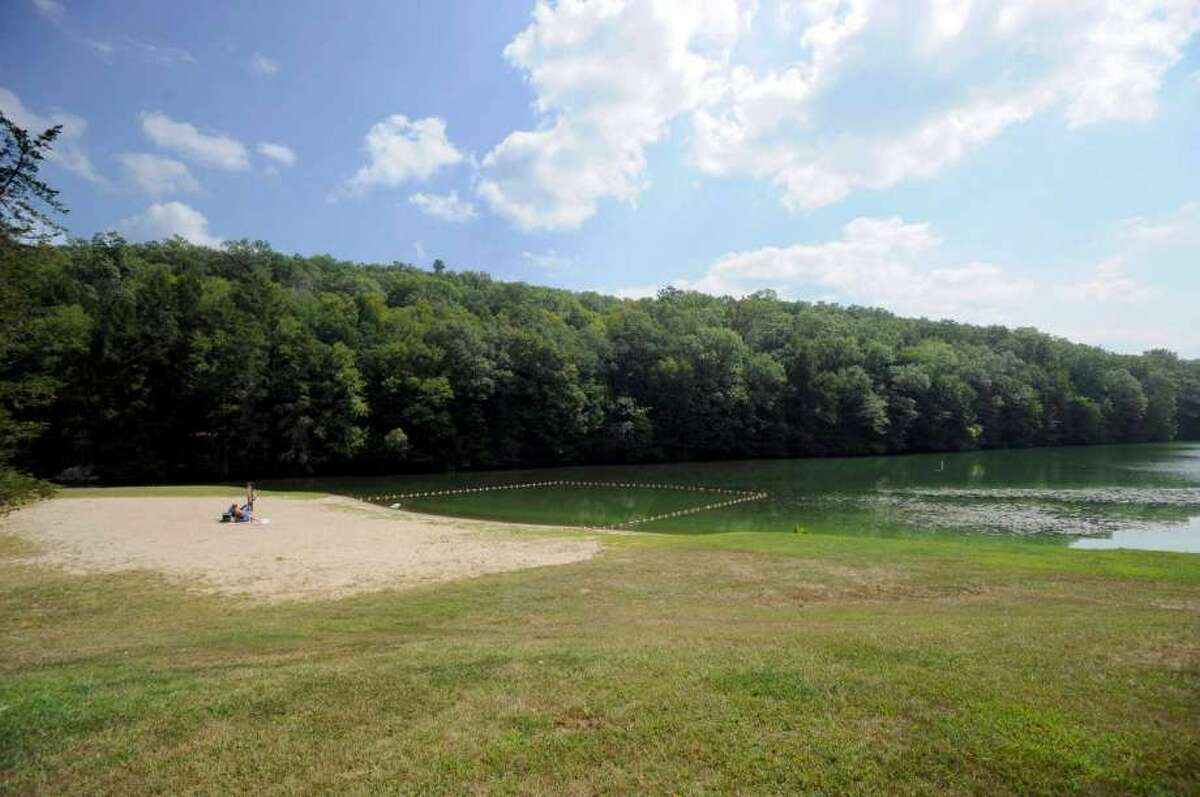 Kettletown State Park, Southbury File photo of when Kettletown State Park in Southbury closed to swimming because of blue green algae blooms. Photo Wednesday, Sept. 2, 2015. (Photo: Carol Kaliff / Hearst Connecticut Media) Where to swim: Lake Zoar (unguarded)