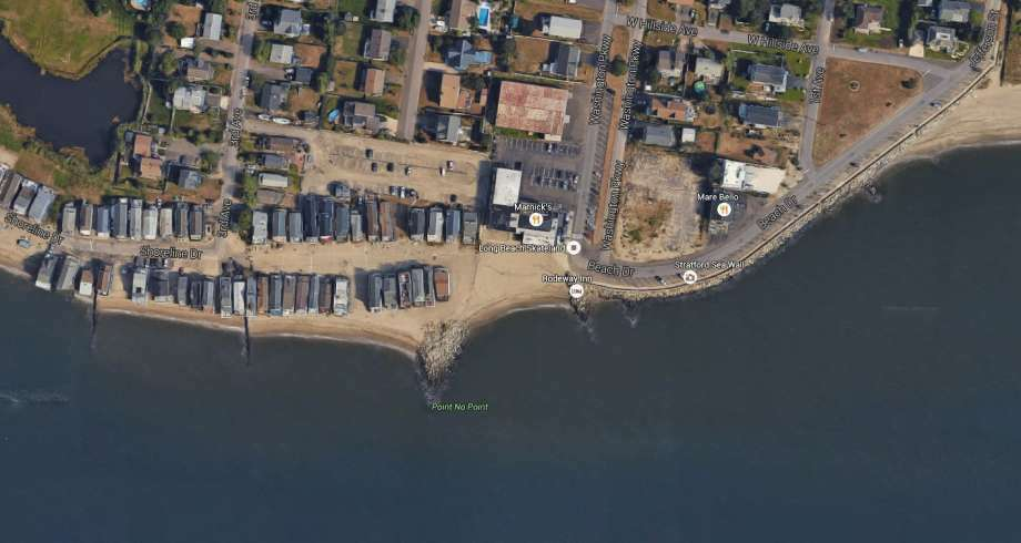 A fisherman was pulled from his 50-foot trawler into Long Island Sound at about 2:30 p.m. Saturday, June 4, 2016 when the fish he hooked pulled him overboard into Long Island Sound, a U.S. Coast Guard official said. (Photo: Google Earth)