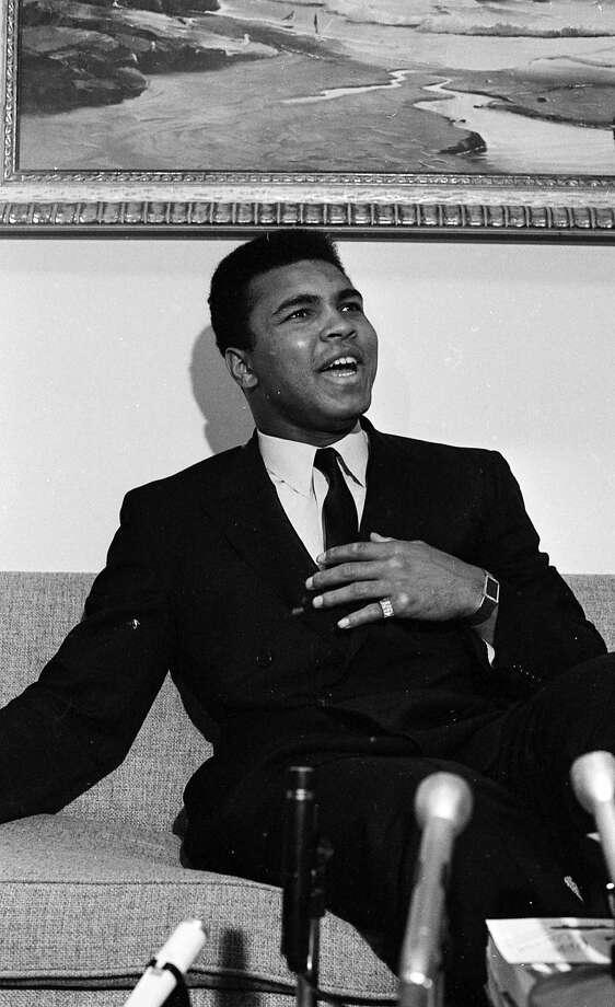 Heavyweight boxer Muhammed Ali Photo: Peter Breinig
