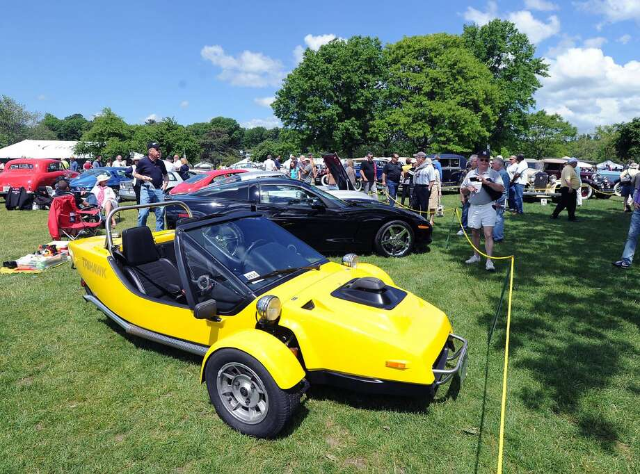 The famous Greenwich Concours d'Elegance is this weekend at Roger Sherman Baldwin Park onFriday,Saturday, andSunday