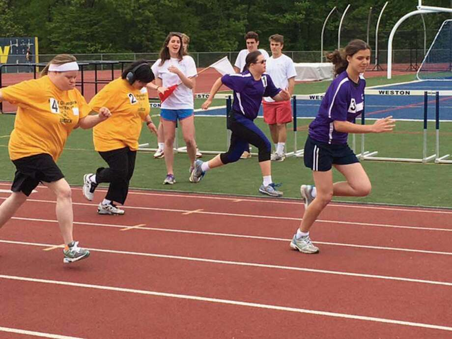 The Wilton Family YMCA serves as a training ground for Special Olympics Connecticut Summer Games. Photo: Contributed Photo