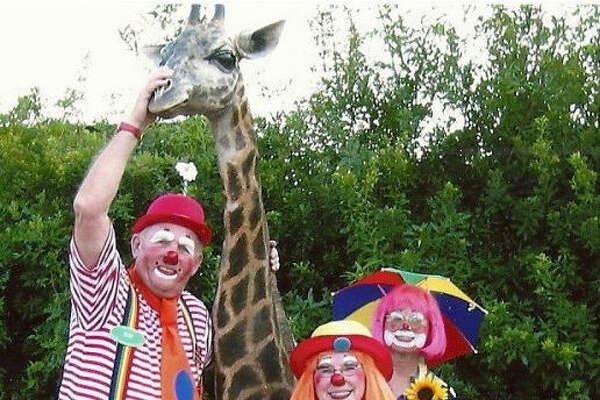 Frown Busters Clowns will perform 2-2:30 p.m. July 13 at the Richard &Meg Weekley Community Center.