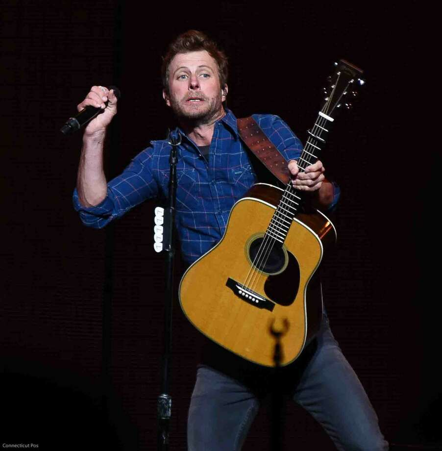 """Photos from Friday night's Dierks Bentley """"Somewhere On A Beach Tour"""" at the XFinity Theater in Hartford, featuring Tucker Beathard, Cam and Randy Houser."""