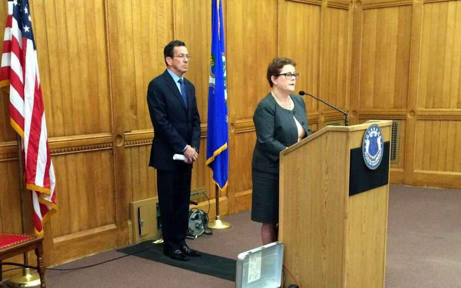On March 20, 2015, Gov. Dannel P. Malloy announced Katharine Wade as commissioner of the state Insurance Department. The former Cigna executive has been criticized for taking part in the proposed $54.3-billion acquisition of Cigna.(Photo: Contributed Photo)