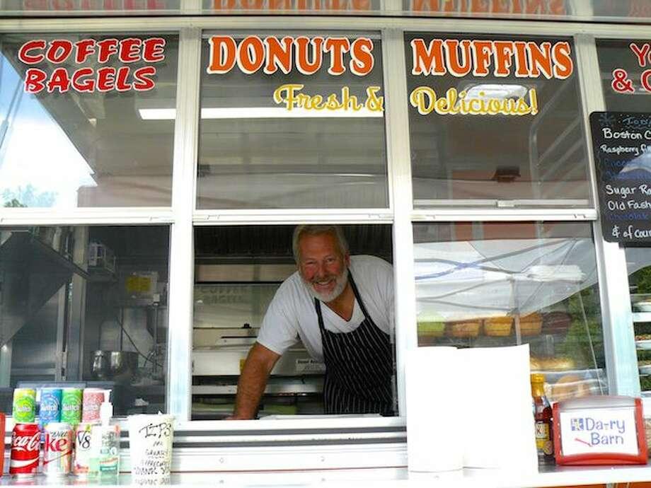 Redneck Gourmet Donuts has been open just 5 weeks in Higganum, Connecticut. Owner Jeff Blaschke is behind the delicious treats. (Photo: CTBites)