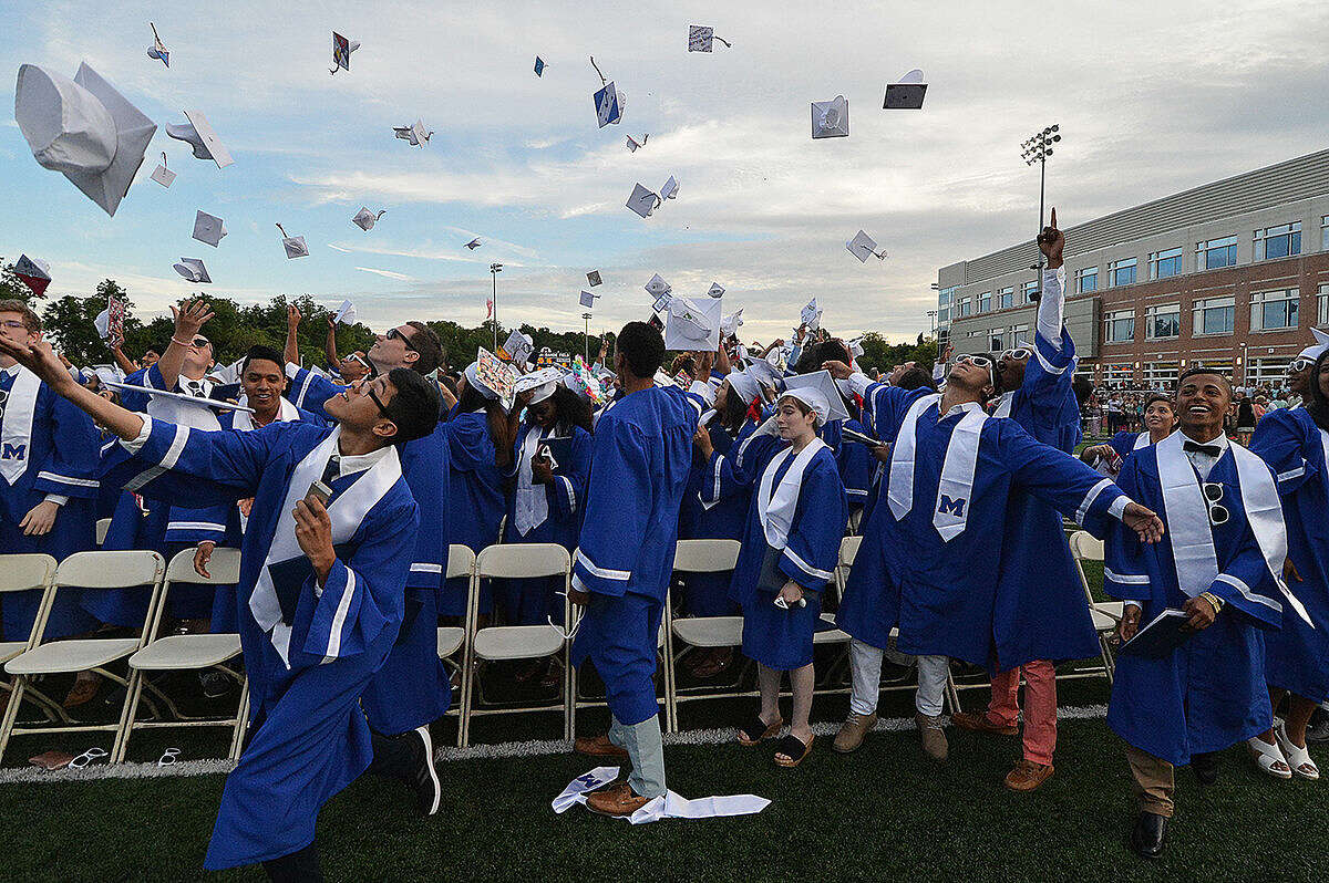 Brien McMahon High School Class of 2016 Commencement Exercises on Wednesday June 15, 2016 in Norwalk Conn.