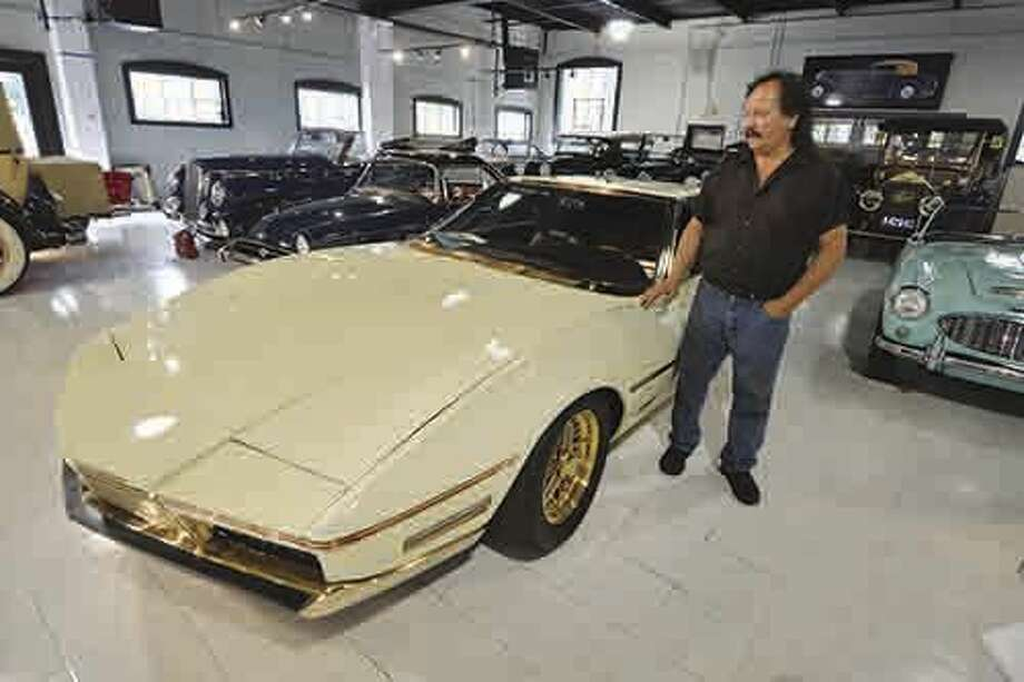 Car enthusiasts to hold fundraiser at Lockwood Mathews Mansion on Sunday to raise money to create New England Auto Museum at former Riverview Plaza on Belden Avenue in Norwalk. George Dragone of Dragone Classic Motorcars in Westport will be among the car collectors bringing their classics to the show. George will present his one of a kind concept cat , a 1967 Exemplar 1 that took years to restore, along with two examples of pre war Alfa Romeo's . on June 16 2016 in Westport Conn. Photo: Alex Von Kleydorff
