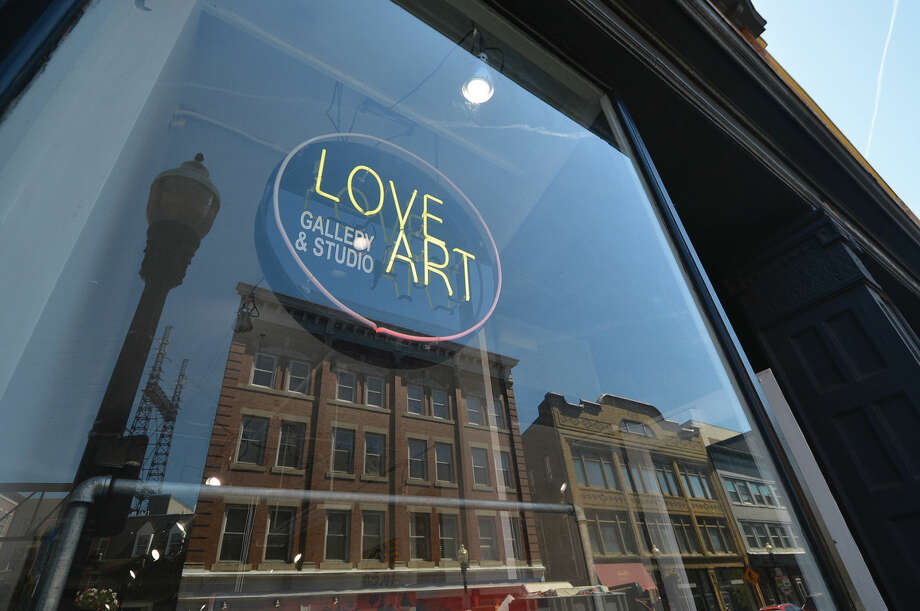 Love Art gallery and Studio in SoNo Photo: Alex Von Kleydorff