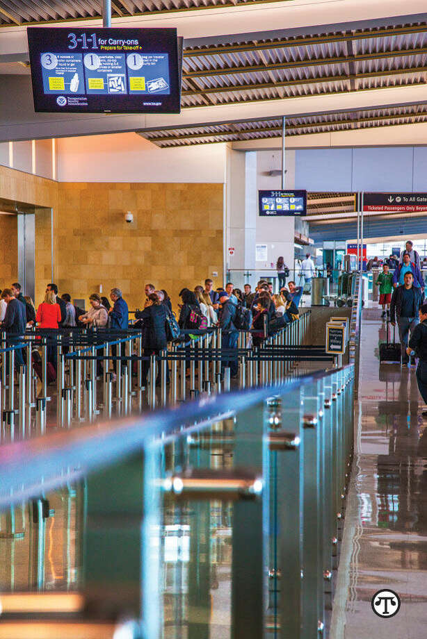 Airports offering more amenities and less wait time are increasingly popular places to go to—and from. (NAPS)