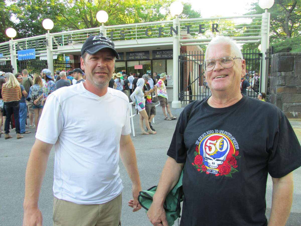 Were you Seen at the Dead & Company concert with Bob Weir, Bill Kreutzmann, Mickey Hart, John Mayer, Oteil Burbridge and Jeff Chimenti, at SPAC in Saratoga Springs on Tuesday, June 21, 2016?