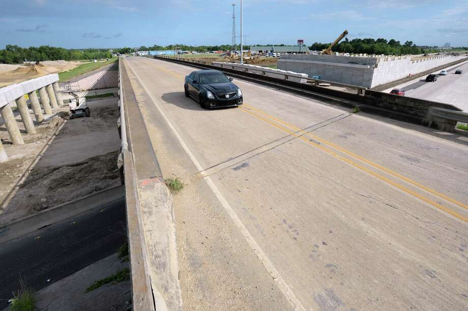 The Major Drive overpass at Interstate 10 will close Wednesday at 9 p.m. and will not reopen until sometime before the 2017 fair season Sarah Dupre, spokesperson for the Texas Department of Transportation said Tuesday. The new design will allow for less congestion and will have the Interstate traveling over Major Drive much like the nearby Walden Road intersection. Dupre added that the project will also open the area to more growth possibilities. Photo taken Tuesday, June 21, 2016 Guiseppe Barranco/The Enterprise Photo: Guiseppe Barranco, Guiseppe Barranco/The Enterprise