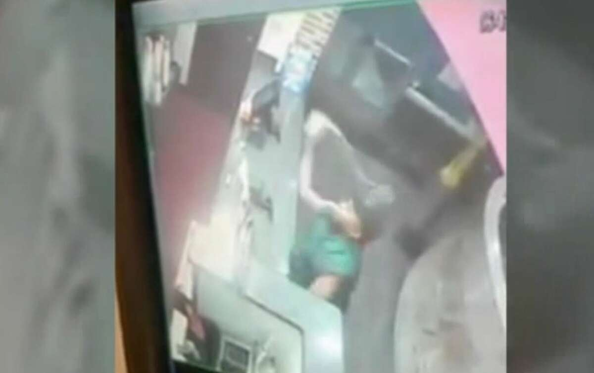 Dallas police are looking for a man who punched a Burger King employee after he was dissatisfied with the milkshake she made him, according to media reports.