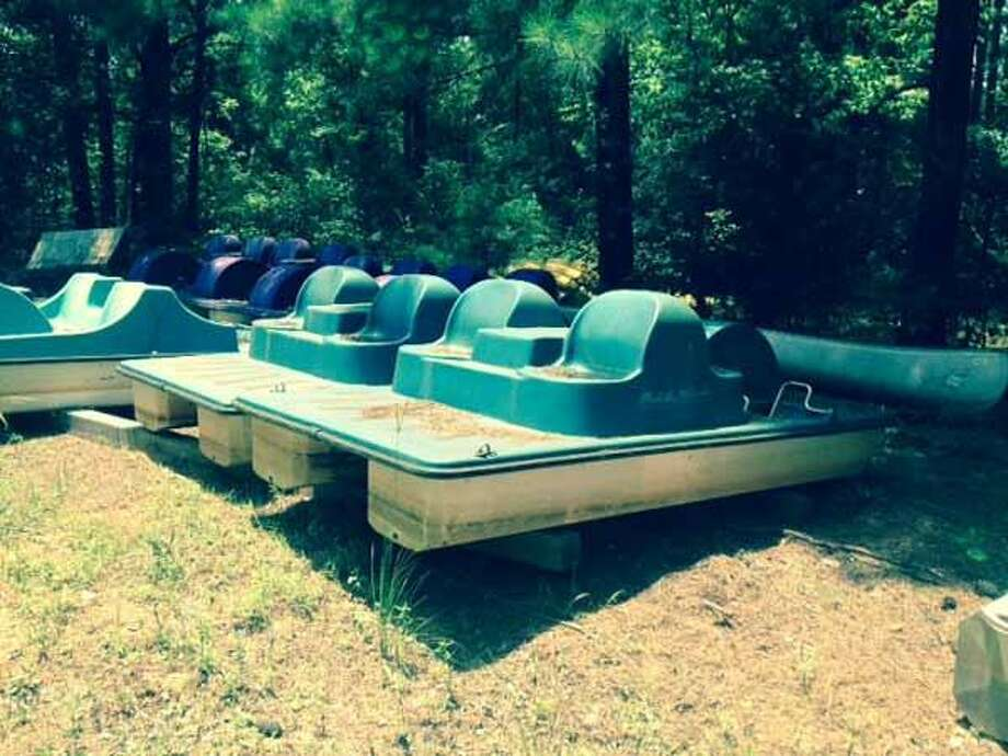 4 Paddle Wheeler Paddle BoatsStarting bid: $25Location: Tyler Photo: Texas Parks And Wildlife Department Via Lone Star Auctioneers