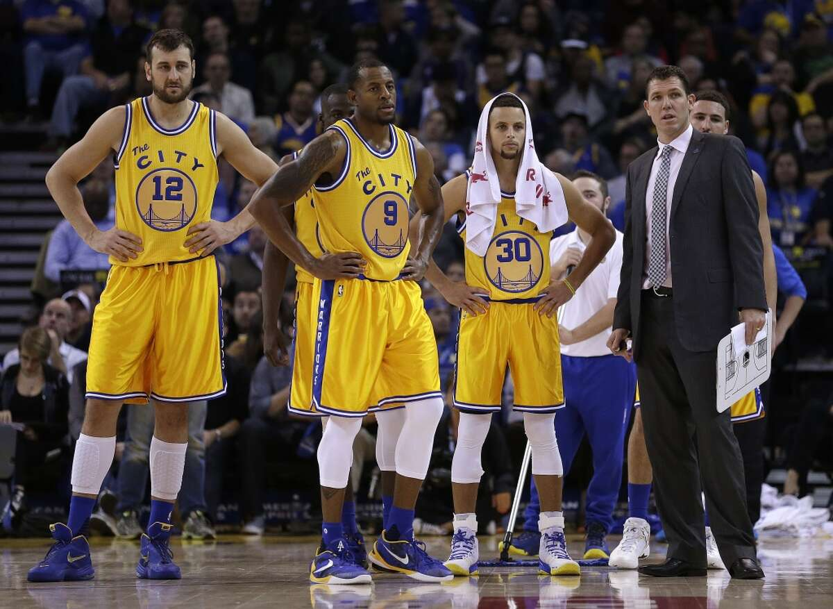 8. According the Vertical, the Warriors would likely have to say good-bye to Harrison Barnes, Andrew Bogut and Andre Iguodala if they signed Durant. Bogut and Iguodala are older and Barnes is inconsistent, but still, is it worth it?