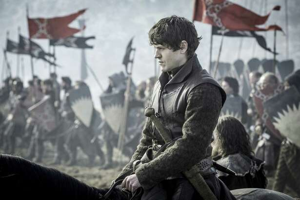 """It was great to do that big parley scene on the horses, finally getting to meet Jon Snow,"" Iwan Rheon says of playing Ramsay Bolton on ""Game of Thrones."""