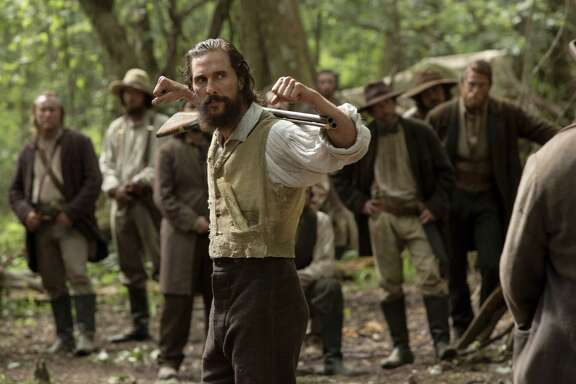 "This image released by STX Productions shows Matthew McConaughey in a scene from ""The Free State of Jones."" (Murray Close/STX Productions via AP)"
