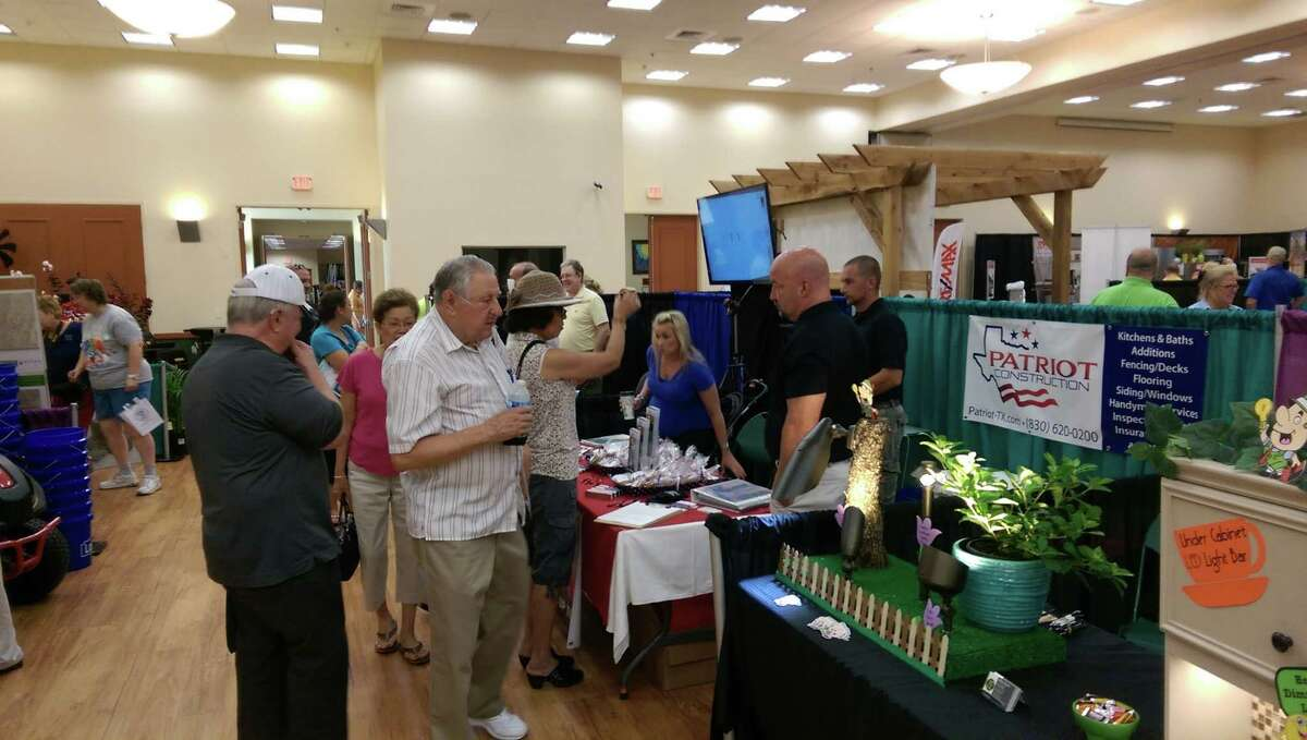 The Chamber of Schertz, Cibolo and Selma presents its second annual Home Living Showcase from 10 a.m. to 2 p.m. Saturday, June 25. at the Schertz Civic Center, 1400 Schertz Parkway in Schertz. Admission and parking are free. Shown are vendors and attendees at last year's showcase, which drew more than 400 people.