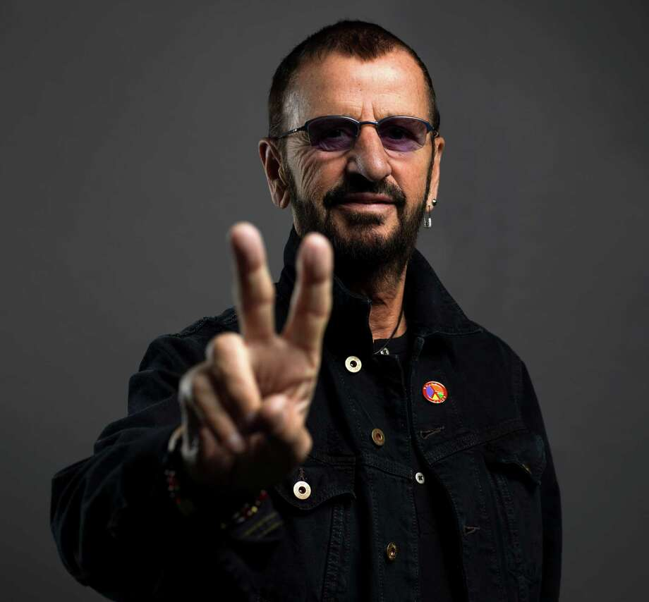 Ringo Starr poses on June 13, in New York. Starr is on a U.S. tour with his All-Starr band, which wraps on July 2 in Los Angeles. He turns 76 on July 7. Photo: Scott Gries, INVL / Invision